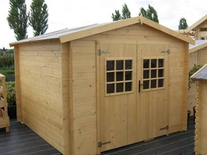 Cabanons cabanes de jardin en bois concept gad le for Prix cabanon bois